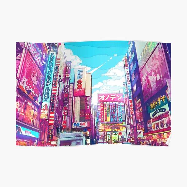 Tokyo Akihabara Poster