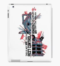 Enemies iPad Case/Skin