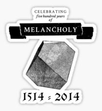 Melancholy Sticker