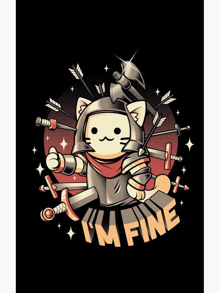 I'm Fine by ilustrata