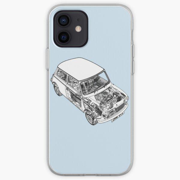 haynes mini bleu Coque souple iPhone