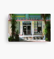 Miami Beach Hotel Canvas Print