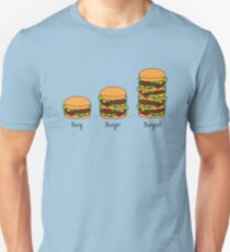Burger explained: Burg. Burger. Burgest T-Shirt