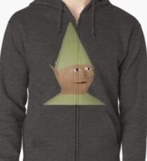 Gnome Child Zipped Hoodie