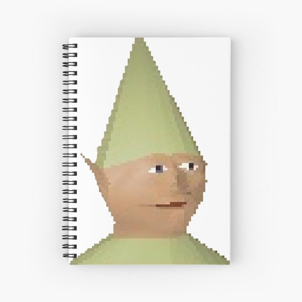 Gnome Child Spiral Notebook
