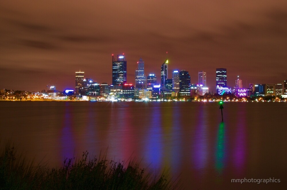 Perth City from South Perth by mmphotographics