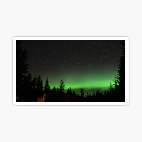 Alaskan Northern Lights Sticker