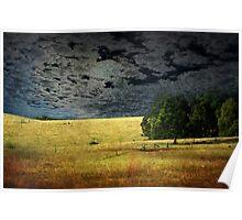 Moonlight Farmland Poster