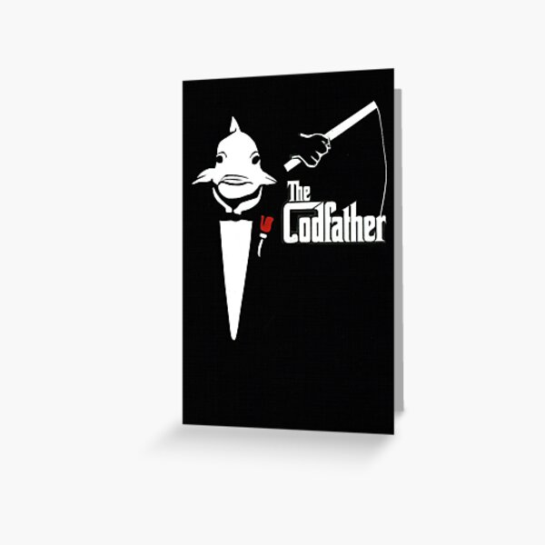 The Codfather Greeting Card