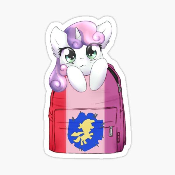 Sweetiebelle Bagpack Pony Sticker