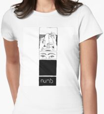Numb Women's Fitted T-Shirt