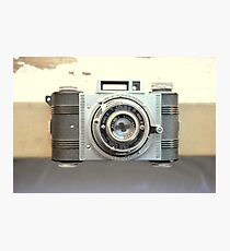 Detrola Vintage Camera Photographic Print