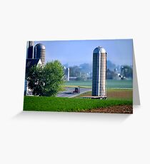 Amish Country  Greeting Card