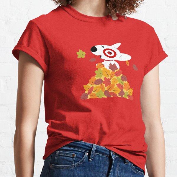 Target Bullseye Fall Leaves Classic T-Shirt