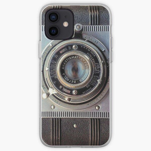 Detrola Vintage Camera iPhone Soft Case