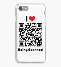 I Love Being Scanned iPhone Case/Skin
