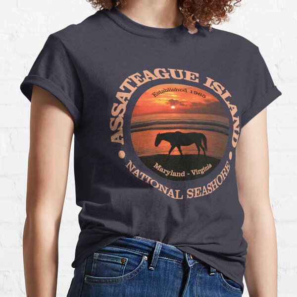 Assateague Island National Seashore (NP) Classic T-Shirt