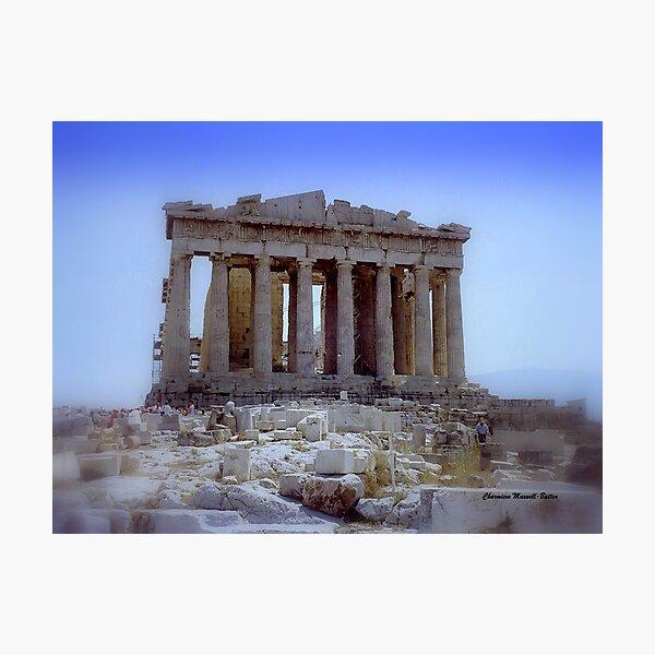 Parthenon 1990 Photographic Print