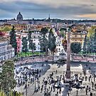 Rome from on High by vivsworld