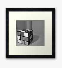Rubix Framed Print