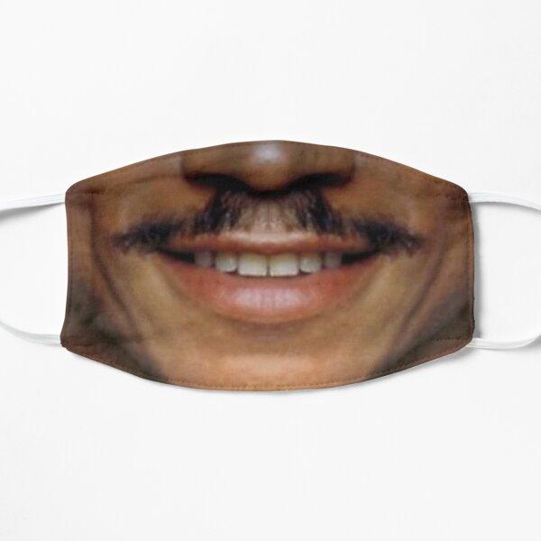 Moustache Art: The Billy Dee Flat Mask