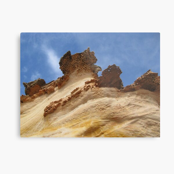 cliff edge Metal Print