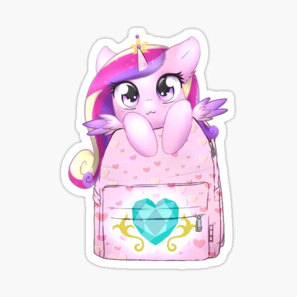 Cadance Bagpack Pony Sticker