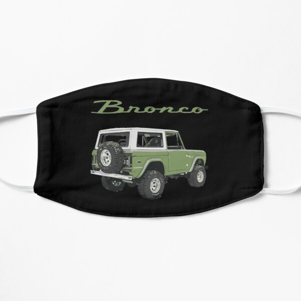 1971 Green Classic Ford Bronco  Flat Mask