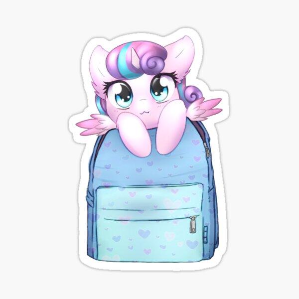 Flurryheart Bagpack Pony Sticker