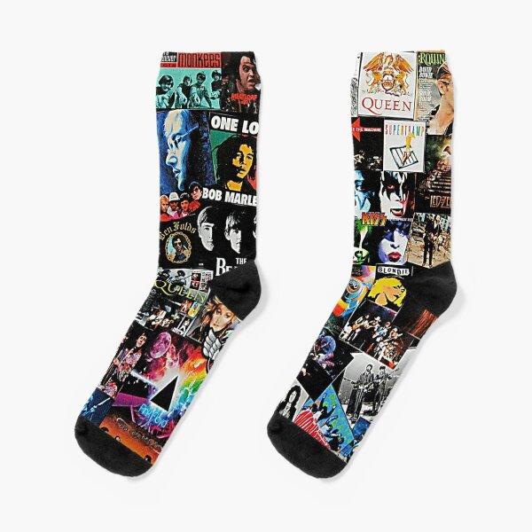 Rock Collage Socks