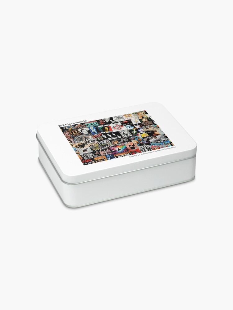 Alternate view of Rock Collage Jigsaw Puzzle