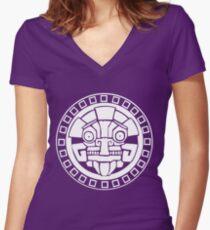 Argonian Symbol Women's Fitted V-Neck T-Shirt