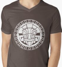 Argonian Symbol Mens V-Neck T-Shirt