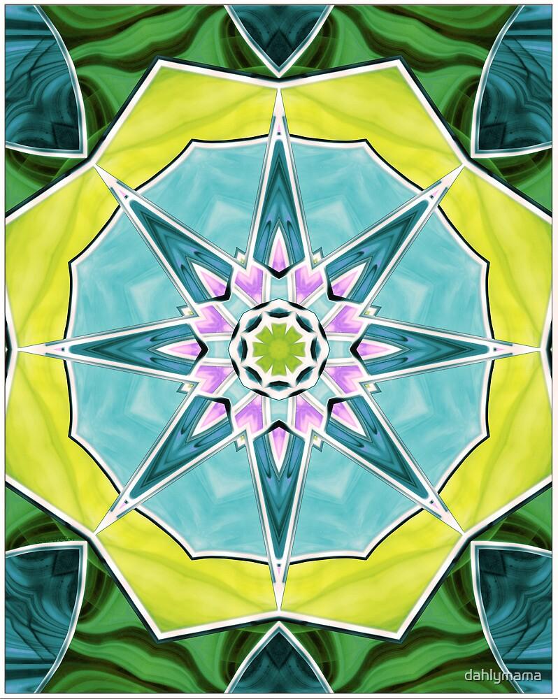 Stained Glass Window 8 by Shawna Rowe