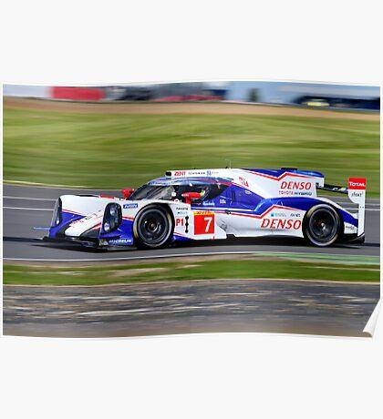 Toyota Racing No 7 Poster