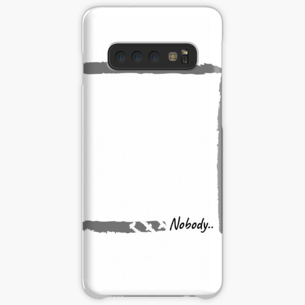 Lonley . Nobody Samsung Galaxy Snap Case