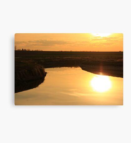 Sunset For Britani Canvas Print