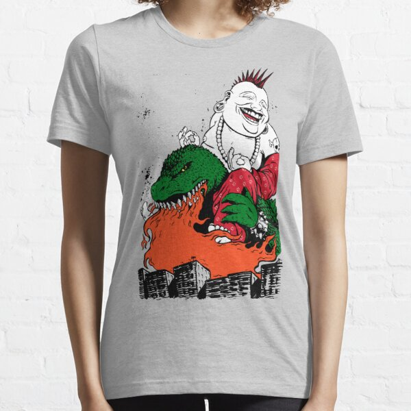 Sit Down and Shut Up Artwork in Color (textless) Essential T-Shirt