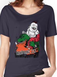 Sit Down & Shut Up Artwork in Color! Women's Relaxed Fit T-Shirt