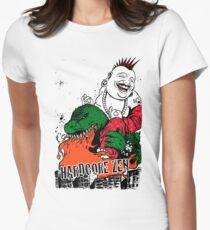 Sit Down & Shut Up Artwork in Color! Tailliertes T-Shirt für Frauen