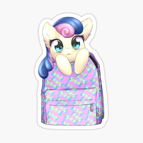 Candy bagpack pony Sticker