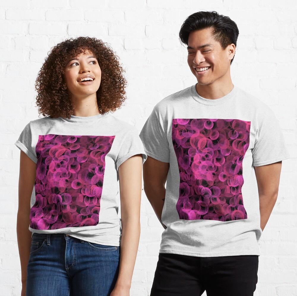 Disco Circles Pink Classic T-Shirt
