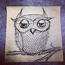 Judgmental Owl by Alisa Gonzalez
