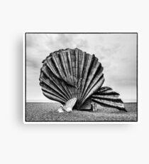The Scallop, Aldeburgh Canvas Print
