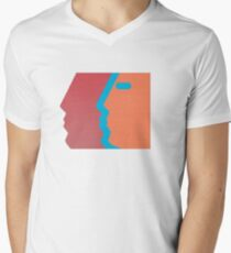 Com Truise, The Decay album cover. Men's V-Neck T-Shirt