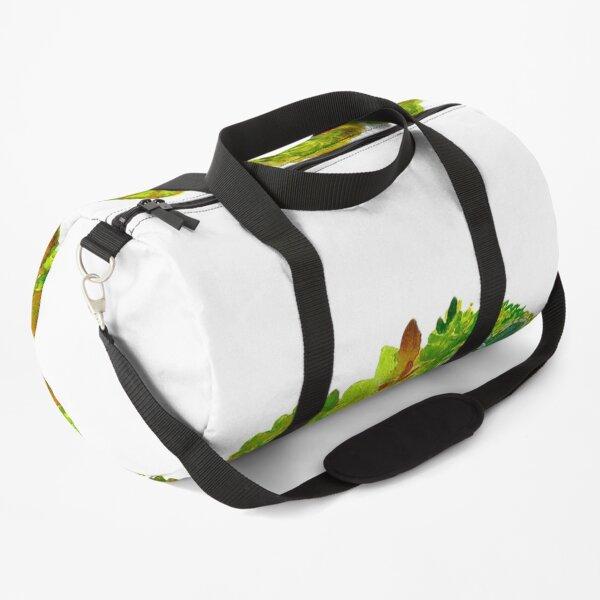 Succulent Wreath Duffle Bag