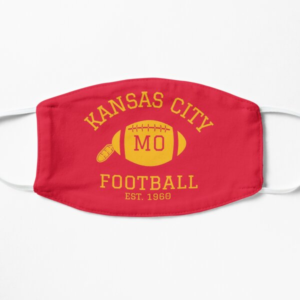 Kansas City 1960 | Vintage KC Football Missouri Retro Gift T-Shirt Mask