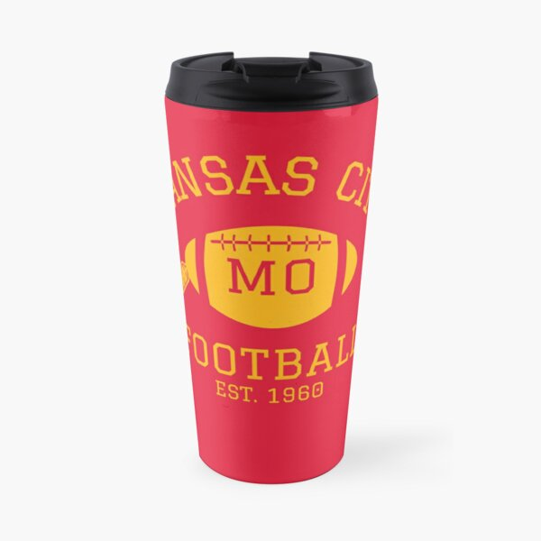 Kansas City 1960 | Vintage KC Football Missouri Retro Gift T-Shirt Travel Mug