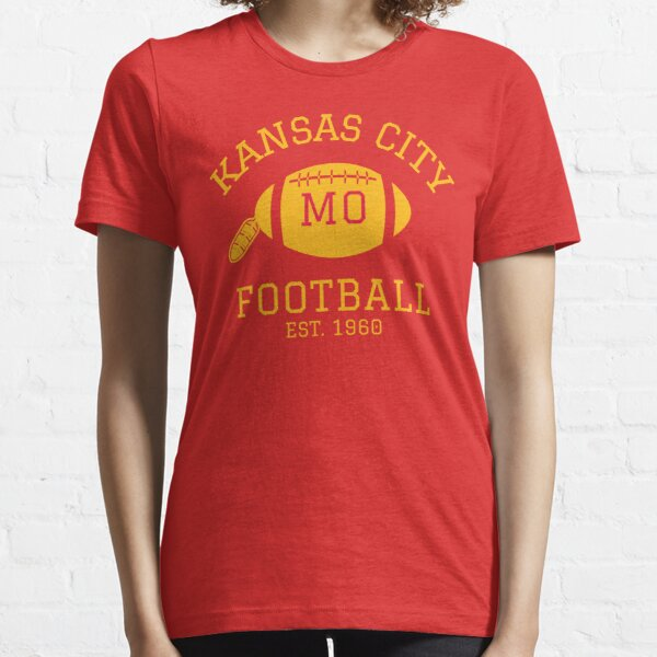 Kansas City 1960 | Vintage KC Football Missouri Retro Gift T-Shirt Essential T-Shirt