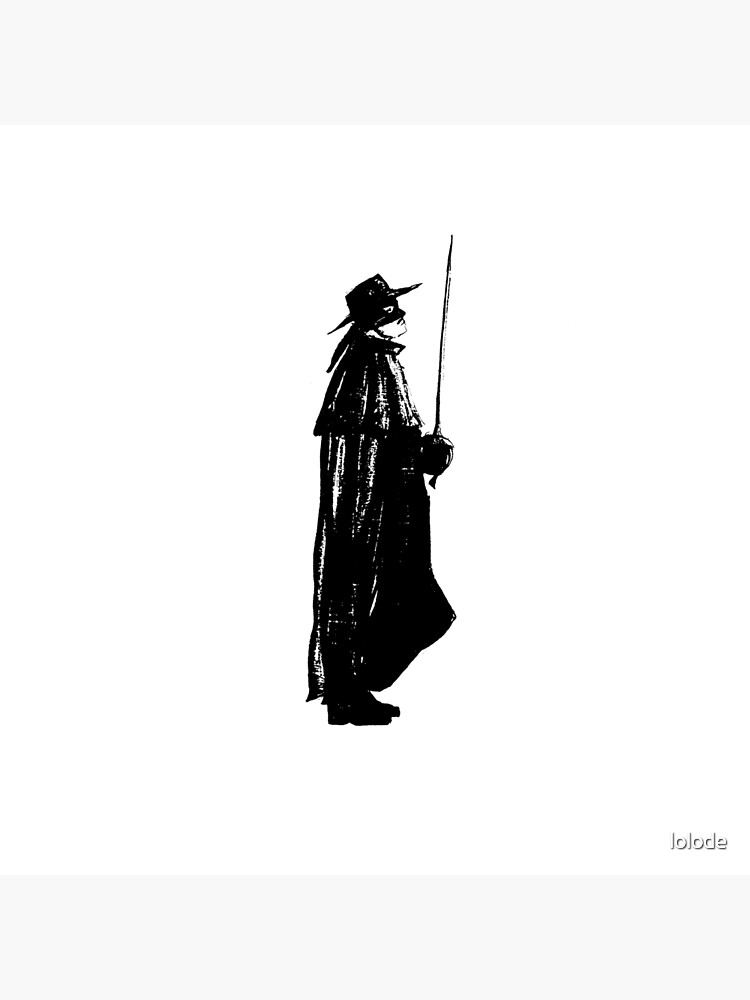 Zorro on guard by lolode